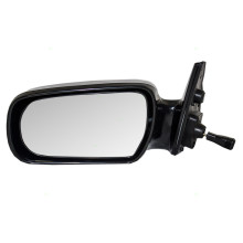 Fits Toyota Camry 87-91 Passengers Side Manual Remote Mirror Glass w// Housing