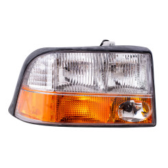 GMC Jimmy Sonoma Pickup Truck New Passengers Headlight Headlamp with Fog Lamp Assembly