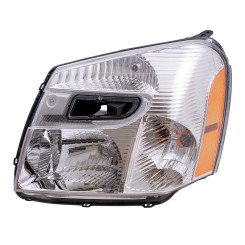 05-09 Chevrolet Equinox New Drivers CAPA-Certified Halogen Combination Headlight Headlamp Lens Housing Assembly