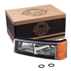Chevrolet Avalanche Silverado Pickup Truck New Drivers Park Signal Front Marker Light Lamp Assembly