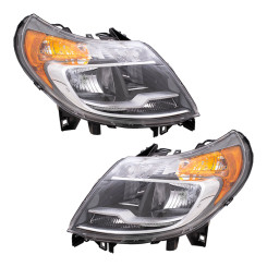2014-2019 RAM Promaster Van Headlight Driver Headlamp Assembly with LED Daytime Running Lights