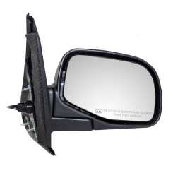 95-01 Ford Explorer New Passengers Power Side View Mirror Glass Housing Heated Textured Assembly