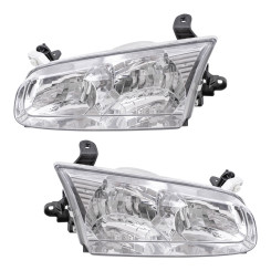 00-01 Toyota Camry New Pair Set Headlight Headlamp Lens Housing Assembly