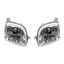 05-06 Toyota Tundra Pickup Truck New Pair Set Headlight Headlamp Lens Housing Assembly DOT