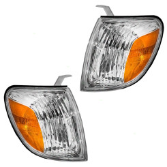 05-06 Toyota Tundra Pickup Truck New Pair Set Park Signal Corner Marker Light Lamp Assembly DOT