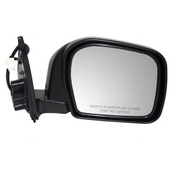 00-02 Toyota 4Runner New Passengers Power Side View Mirror Glass Housing