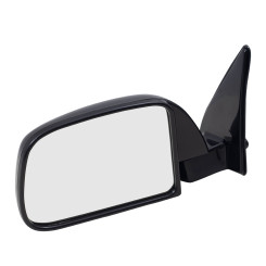 89-95 Toyota Pickup Truck without Vent Window New Drivers Manual Side View Mirror Glass Sail Mounted Housing