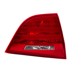 2009-2011 BMW 3 Series E90 Sedan Tail Light Driver Side Lid Trunk Mounted Lens with Housing