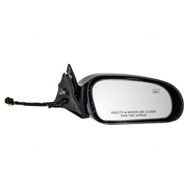 Picture of  95-99 CR SEBRING COUPE POWER MIRROR PAINT TO MATCH BLACK W/HEAT RH 95-99 DG AVENGER