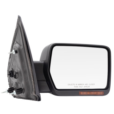 09-14 Ford F-150 Pickup Truck New Passengers Power Side View Mirror Glass Housing Heated Signal Memory Reflector