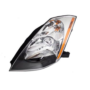 03 05 nissan 350z drivers halogen headlight assembly. Black Bedroom Furniture Sets. Home Design Ideas