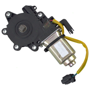 05-12 Nissan Pathfinder New Passengers Rear Power Window Lift Regulator Motor Aftermarket Replacement