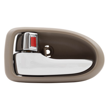 Picture of 00-06 MZ MPV INSIDE DOOR HANDLE CHROME LEVER-BEIGE HOUSING FRONT LH