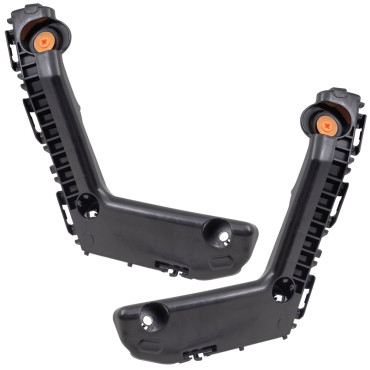 17-19 Toyota Corolla New Pair Set Front Bumper Brackets Side Retainer Support Covers