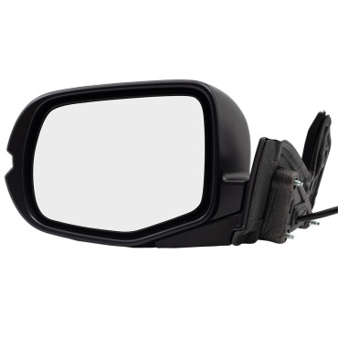 2017-2019 Honda Ridgeline Pickup New Drivers Side View Power Mirror Manual Folding with Cover 76250T6ZA11ZD