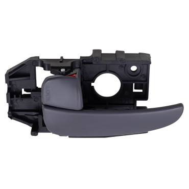 Picture of 01-06 HY ELANTRA INSIDE DOOR HANDLE GRAY FRONT=REAR LH