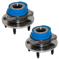 Picture of Buick Chevrolet Pontiac Van New Pair Set Front Wheel Hub Bearing Assembly