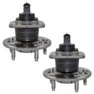 Picture of Buick Cadillac Chevrolet Oldsmobile Pontiac New Pair Set Rear Wheel Hub Bearing Assembly