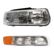 Chevrolet Silverado Pickup Truck Tahoe Suburban New Passengers Headlight with Park Signal Side Marker Light Assembly