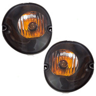 04-08 Pontiac Grand Prix New Pair Set Park Signal Marker Light Lamp Lens Housing Dot