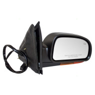 Picture of 02-03 Chevy Trailblazer & EXT GMC Envoy & XL Oldsmobile Bravada New Passengers Power Side Mirror Heated Amber Signal