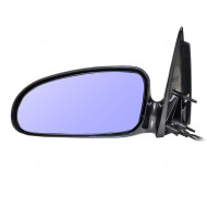 Picture of 00-05 Pontiac Bonneville New Drivers Power Side View Mirror Blue Glass Housing Heated