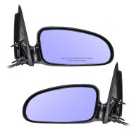Picture of 00-05 Pontiac Bonneville New Pair Set Power Side View Mirror Blue Glass Housing Heated Assembly