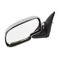 99-07 GM Pickup Truck SUV New Drivers Performance Upgrade Chrome Manual Mirror Glass Housing Assembly