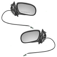 Picture of 98-05 Buick Park Avenue New Pair Set Power Side View Mirror Glass Housing Assembly