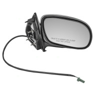 Picture of 98-05 Buick Park Avenue New Passengers Power Side View Mirror Glass Housing Assembly