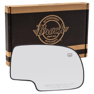 Cadillac Chevrolet GMC Pickup Truck SUV New Passengers Mirror Glass with Base Heated Aftermarket