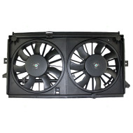 Picture of 00-03 Chevrolet Impala Monte Carlo New Radiator Cooling Fan Motor Shroud Assembly