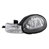 Picture of 01-02 Dodge Neon New Drivers Headlight Headlamp Assembly w/ Black Bezel & Rubber Gasket DOT