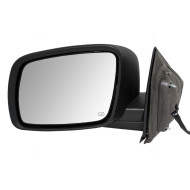 09-15 Dodge Journey New Drivers Power Side View Mirror Glass Housing Heat Heated Textured Assembly