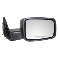 09-12 Dodge Ram Pickup Truck New Passengers Manual Side View Mirror Glass Housing Textured Assembly