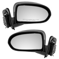 07-14 Jeep Compass New Pair Set Manual Side View Mirror Glass Housing Assembly