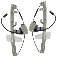 Picture of 00-04 Jeep Grand Cherokee New Pair Set Front Power Window Lift Regulators with Motors Assemblies