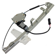 Picture of 00-04 Jeep Grand Cherokee New Passengers Front Power Window Lift Regulator with Motor Assembly