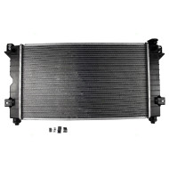 Chrysler Town & Country Dodge Caravan Grand Caravan Plymouth Voyager New Radiator Assembly