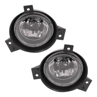 Picture of 01-03 Ford Ranger Pickup Truck New Pair Set Fog Light Lamp Lens Assembly with Bracket SAE