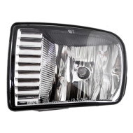 Picture of 00-02 Lincoln LS New Drivers Fog Light Lamp Rectangular Lens Housing Assembly SAE