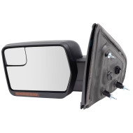 New Drivers Power Side View Mirror Heated Signal Reflector Spotter Glass 09-14 Ford F-150 Pickup Truck