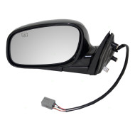 Picture of 98-04 Lincoln Town Car New Drivers Power Side View Mirror Glass Housing Heated with 6H5P Connector