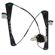 Picture of 00-02 Lincoln LS Jaguar S-Type New Drivers Front Power Window Lift Regulator with Motor Assembly
