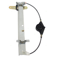 Picture of 98-11 Lincoln Town Car New Drivers Rear Power Window Lift Regulator Aftermarket Replacement