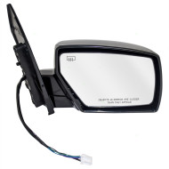 04-09 Nissan Quest New Passengers Power Side View Mirror Glass Housing Heated Smooth Assembly
