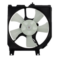 Nissan Sentra 200SX 1.6L New AC A/C Condenser Cooling Fan Motor Shroud  Assembly Aftermarket