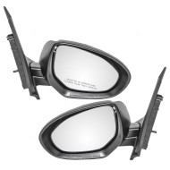 Picture of 11-14 Mazda 2 New Pair Set Power Side View Mirror Glass Housing Assembly