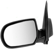 01-06 Mazda Tribute SUV New Drivers Manual Side View Mirror Glass Housing Textured Assembly