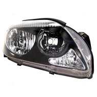 05-10 Scion tC New Passengers CAPA-Certified Headlight Headlamp Lens with Grey Bezel Housing Assembly DOT